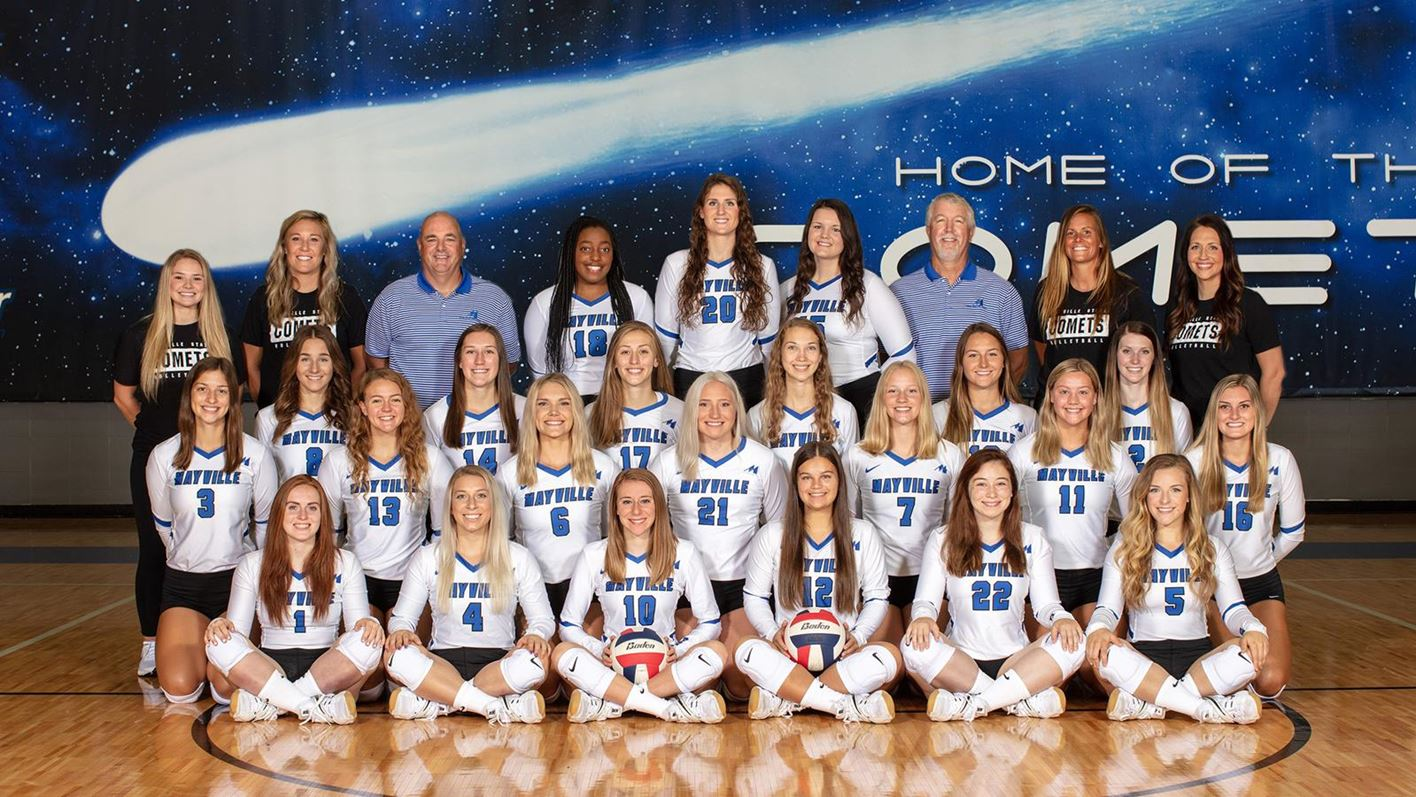 Comet Volleyball Opens The 2020 Season Saturday And Sunday Mayville State University Athletics