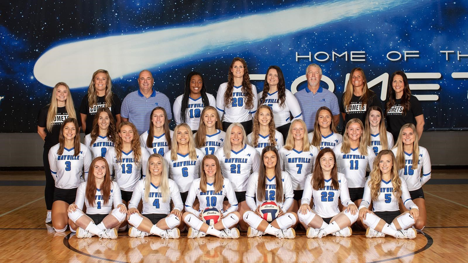 2020 Volleyball Roster Mayville State University Athletics